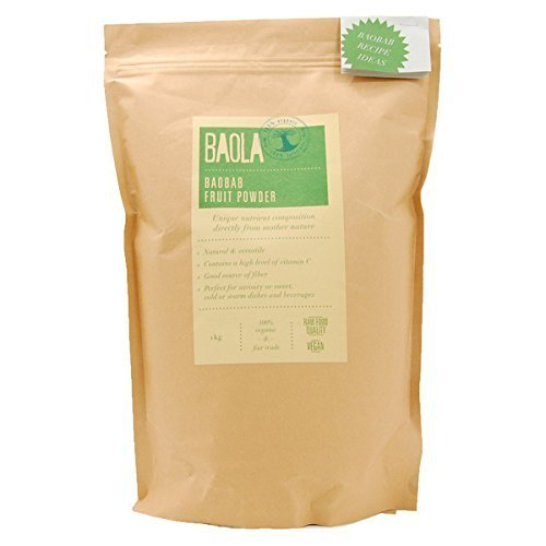 BAOLA organic baobab fruit powder (non-heating) 1kg by BAOLA