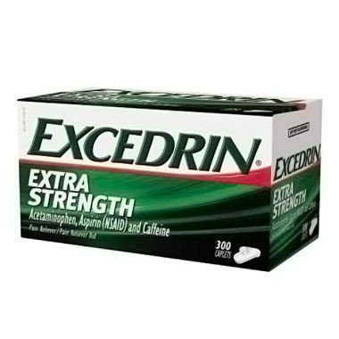 Excedrin Extra Strength Pain Relief Caplets 300 count For Headache Relief ()