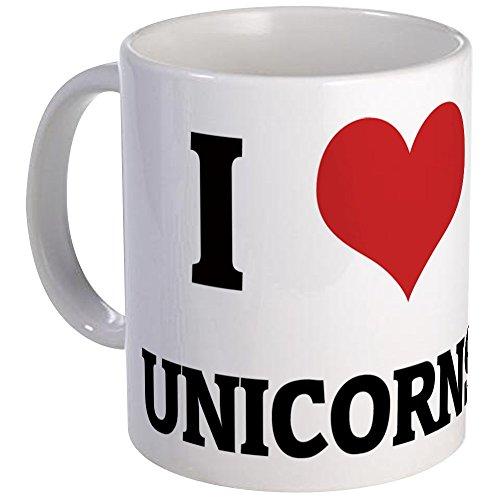 CafePress - I Love Unicorns Mug - Unique Coffee Mug, Coffee Cup