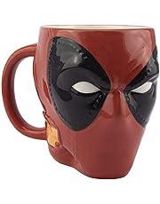 Paladone PP6485DPL Deadpool-Head vormige mok, 1 Count (Pack van 1)