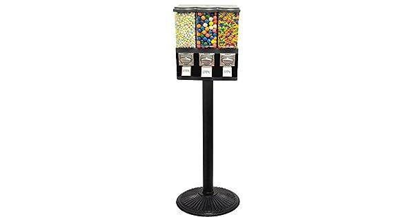 Amazon.com: Triple Pod Candy Gumball Vending Machine ...