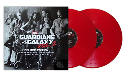 Guardians of the Galaxy Deluxe Edition, Vol. 2 [Score] [Original Motion Picture Soundtrack] [Red Vinyl] (Guardians Of The Galaxy Vol 2 Soundtrack Vinyl)