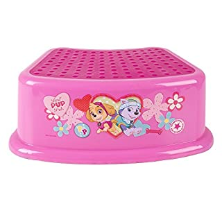 Nickelodeon Paw Patrol Skye and Everest Step Stool