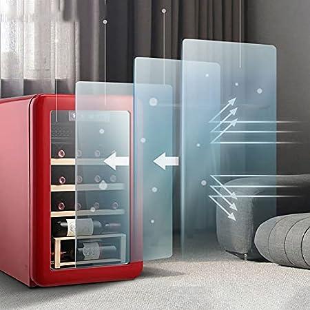 JYXJJKK Vinoteca refrigerada Refrigerador de vinos electrónicos Cocina de Cocina Restaurante refrigerado refrigerador refrigerador electrónico Temperatura Constante del Vino Cooler Red Wine Cooler