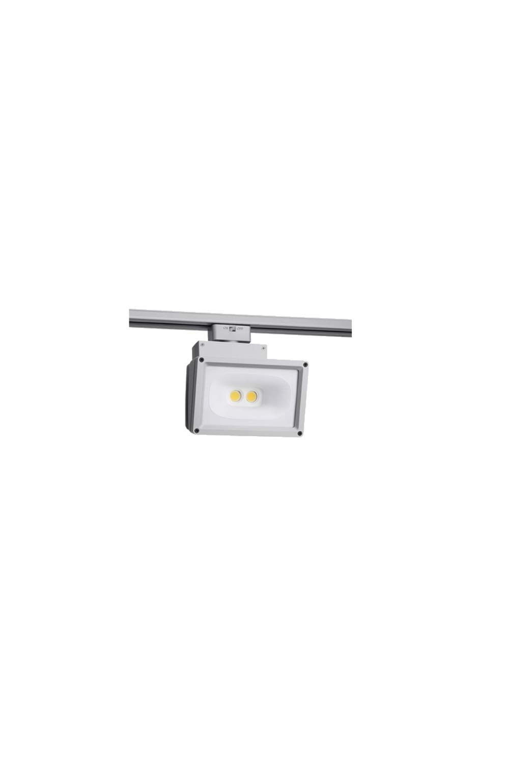 Juno Trac-Master 41W LED Wall Wash/Flood Track Head, White, T259L by Juno Lighting Group (Image #1)