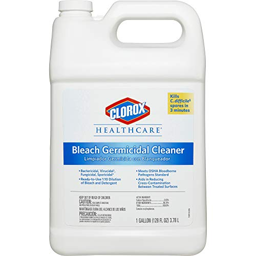 Cleaner Dispatch - Clorox Healthcare Bleach Germicidal Cleaner Refill, 128 Ounces