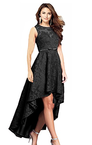 6df925dd3085 Rong store Women's Sleeveless High Low Lace Prom Party Homecoming Dresses