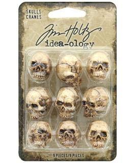 (Tim Holtz TH93718 Halloween Skulls)