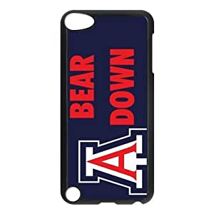 Customize NCAA Basketball Team Arizona Wildcats Back Cover Case for ipod Touch 5