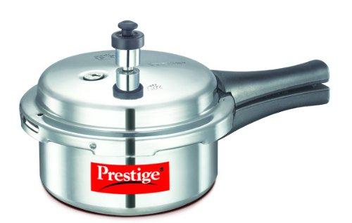 Prestige Popular Aluminium Pressure Cooker, 2 Litres