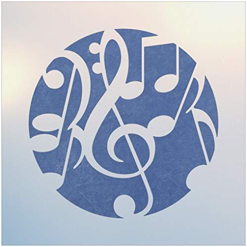 (Music Circle Stencil - The Artful Stencil)