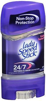 Lady Speed Stick 48HR Antiperspirant Deodorant Gel Fresh Fusion 2.30 oz (Pack of 6) by Lady Speed Stick