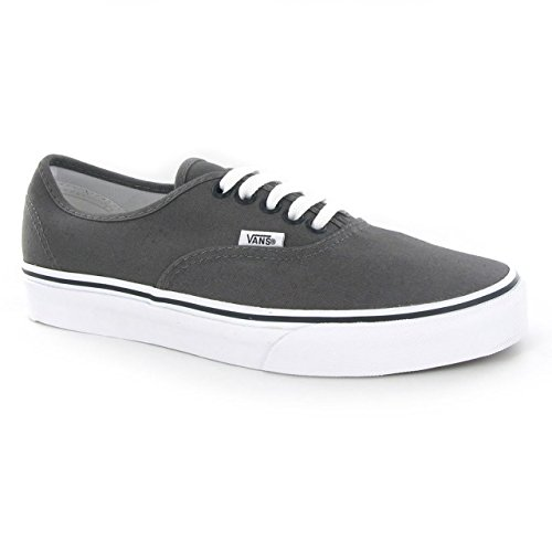 Vans Authentic Classic Skate Shoe Pewter/Black 9 B(M) US Womens/7.5 D(M) US Mens