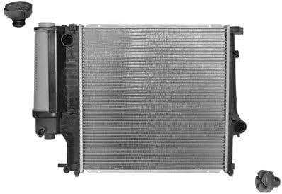 Van Wezel 6002124 radiador de refrigeración del Motor