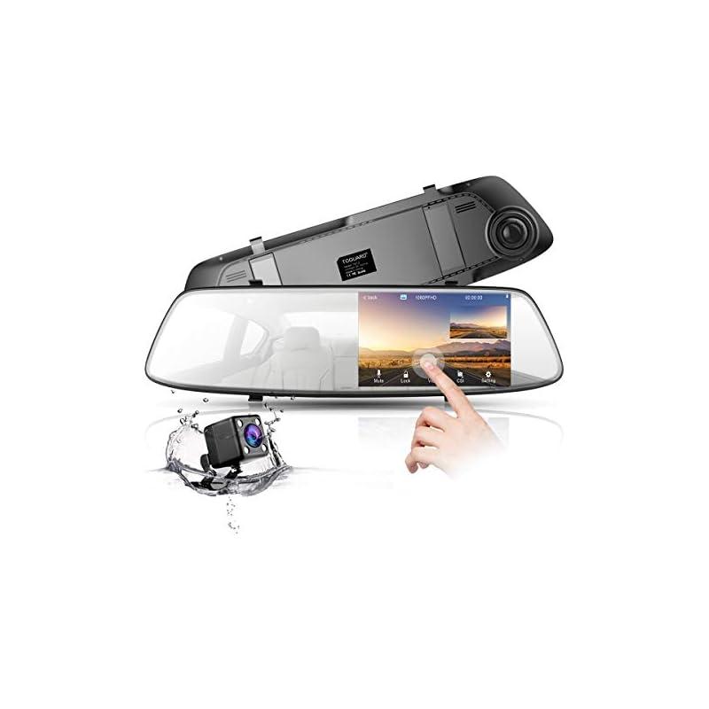 "Backup Camera 4.3"" Mirror Dash Cam 1080P"