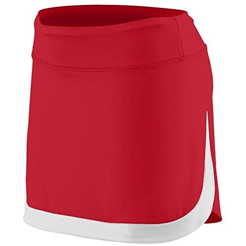 Augusta - Pantalón corto deportivo - para mujer Rojo/Blanco