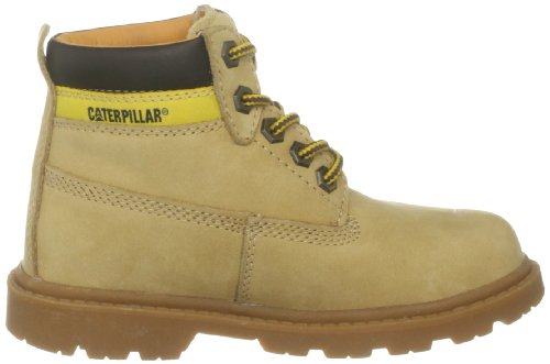 Caterpillar Colorado Plus- Botas de cuero para niños Marrón (Youths Honey)