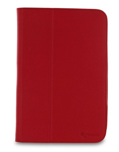 rooCASE Ultra-Slim (Red) Vegan Leather Folio Case for Google Nexus 7 Tablet (Built-in sleep / wake feature) Photo #7