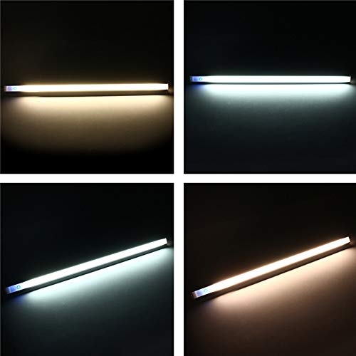YPINGLI 37CM 5W Dimmable USB LED Rigid Strip Hard Bar Light Tube Mirror Lamp + Touch Switch DC5V LED Light Strip (Color : Warm White) by YPINGLI (Image #9)