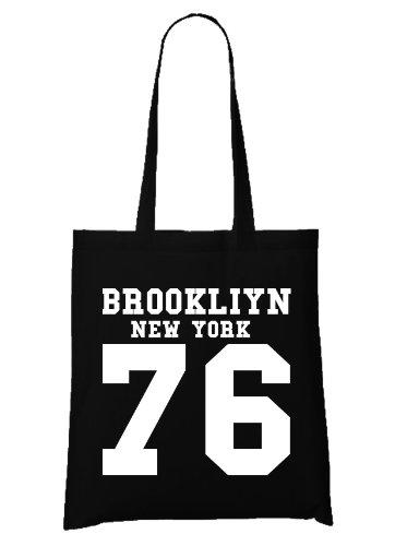 Brooklyn New York Bag Black