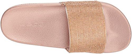 Rose Fonda Slide bebe Gold Women's Sandal wqpnnIS5A