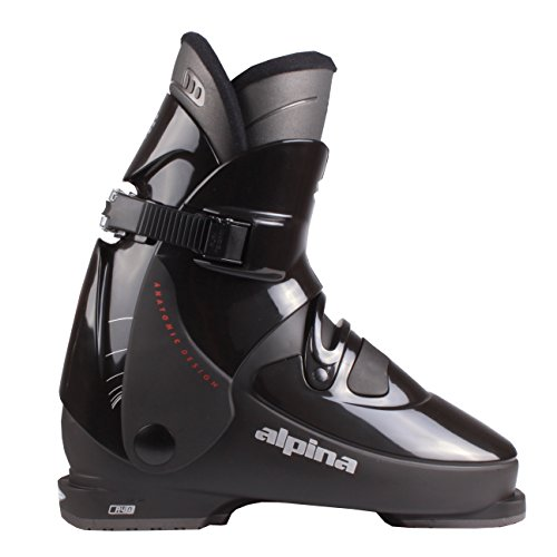Alpina R4 Rear Entry Ski Boots Black 22.5