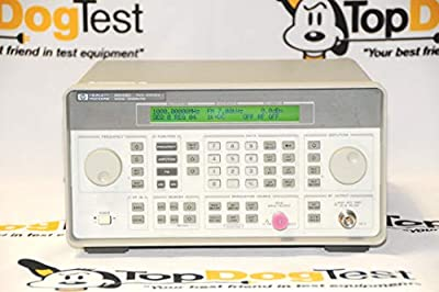 Agilent Keysight 8648D-1E2-1E5 Synthesized RF Signal Generator 9kHz - 4GHz (Renewed)
