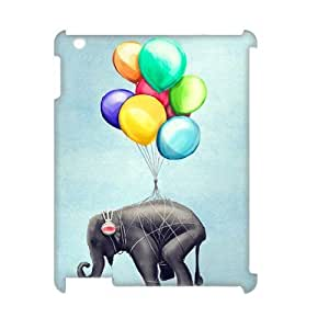 Elephant Unique Design 3D Cover Case for Ipad2,3,4,custom cover case ygtg526347