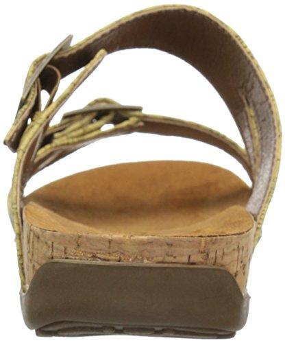 Patte Dours Sandale À Talons Maddie Femme Gaufrée