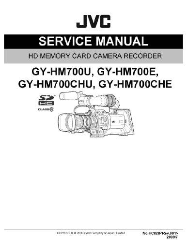 JVC GY-HM700CHU SERVICE Manual