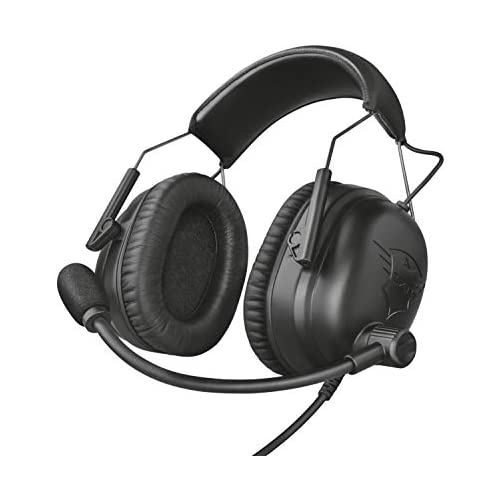 Trust GXT 444 Wayman Auriculares Pro para PC Laptop Playstation 4 Xbox One Nintendo Switch y e Sports Negro