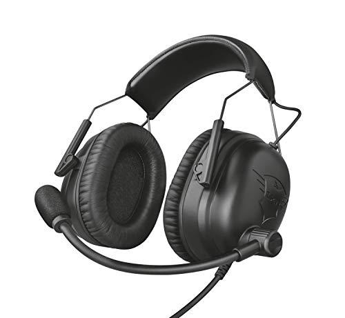 🥇 Trust GXT 444 Wayman – Auriculares Pro para PC