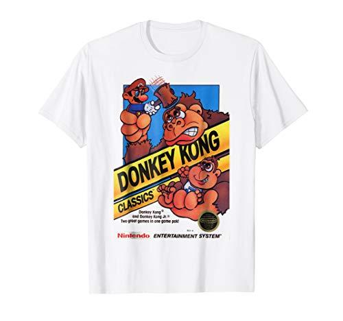 Nintendo Donkey Kong Classics Mario Hammer Graphic T-Shirt