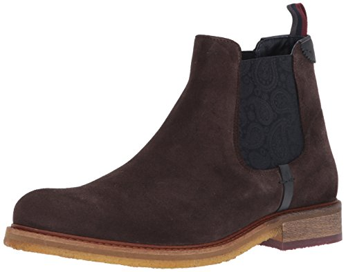 Ted Baker Men's Bronzo Ankle Boot, Brown, 12 M US Bronze Ankle Boot
