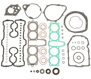 Engine Rebuild Kit - Compatible with Honda CB750 C/F/K/L/SC - 1979-1982 DOHC Gasket Set + Seals ()