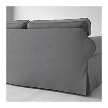 Amazon.com: Ikea Sectional, 3-seat, Nordvalla dark gray ...