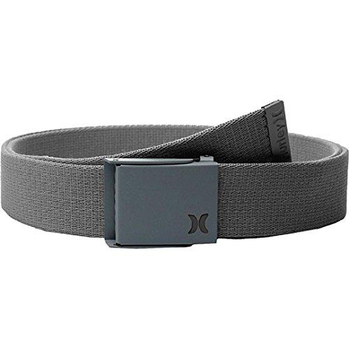 (Hurley Honor Roll Belt, Dark Grey/Black, One Size)