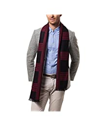 Evedaily Men's Scarf Classic Leisure Business Neck Scarf