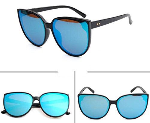 MSNHMU Shopping Sunglasses Sol Beach Travel De Blue Señora Fashion Gafas De qqrwTO4