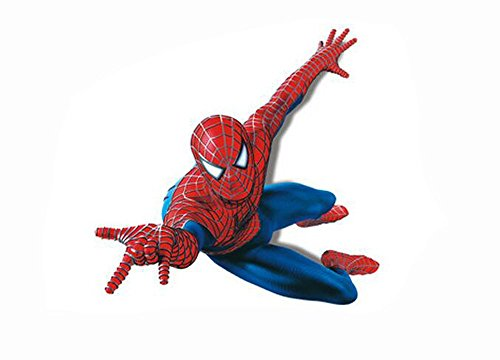 Home Decor Stick Giant Wall Decal 3D View Art Wallpaper Mural - Spiderman Wallpaper