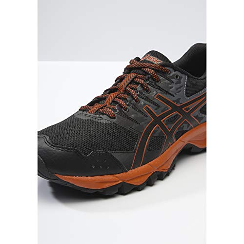 Chaussures Trail Flash Noir Gel Asics De sonoma Homme rouge noir 3 qUHw6t