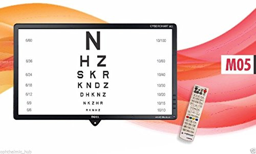 Snellen LED Visual Acuity Chart 18.5