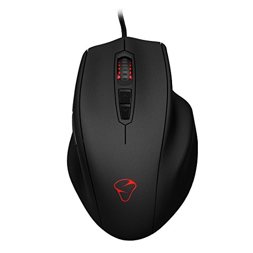 MIONIX NAOS 3200 Multi-Color Ergonomic Optical Gaming Mouse