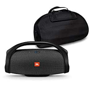 JBL Boombox Portable Speaker and case