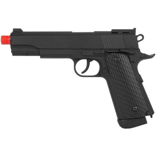 500 fps well full size airsoft m 1911 gas co2 hand gun pistol w/ 6mm bb bbs(Airsoft Gun) (Airsoft Co2 Gas Blowback Glock)