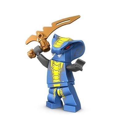Lego Ninjago Slithraa Minifigure: Toys & Games