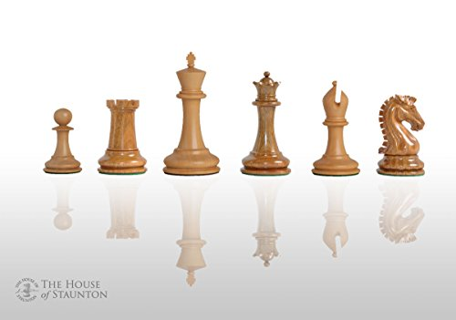 The House of Staunton Camaratta Signature Series Cooke Luxury Chess Set - Pieces Only - 3.65