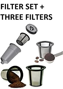 Reusable K Cup Filter My K Cup Filter Housing + 3 EXTRA FILTERS!