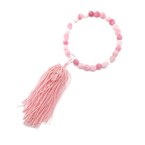 KYOTO ASAHIYA Plastic Japanese Juzu Prayer Beads Small Buddhist Rosary for Children JUB15