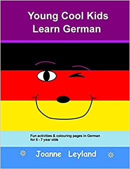 Young Cool Kids Learn German Fun Activities Colouring Pages In